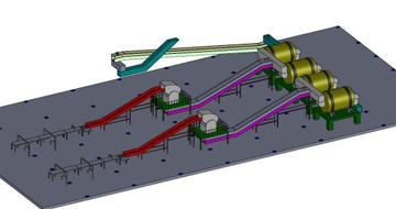 天然胶破碎均化及合成胶自动输送系统-轮胎生产领域