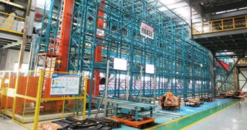终炼胶片自动存储输送系统-轮胎生产领域