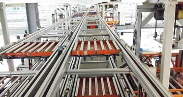 胎胚自动卸胎、输送、喷涂、存储-轮胎生产领域