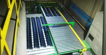 胎面自动收取存储输送系统-轮胎生产领域